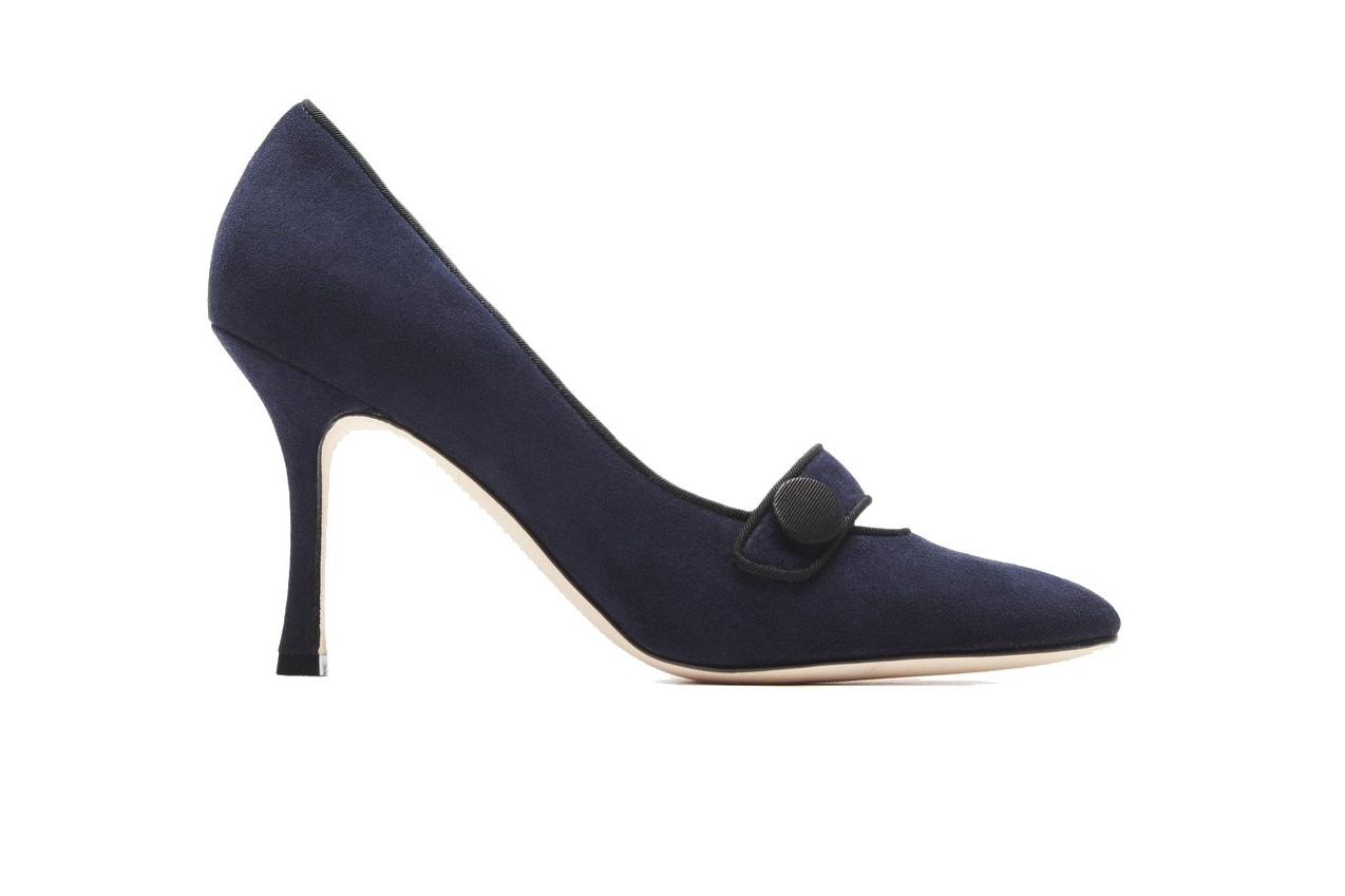 Manolo Blahnik Decampy Pump