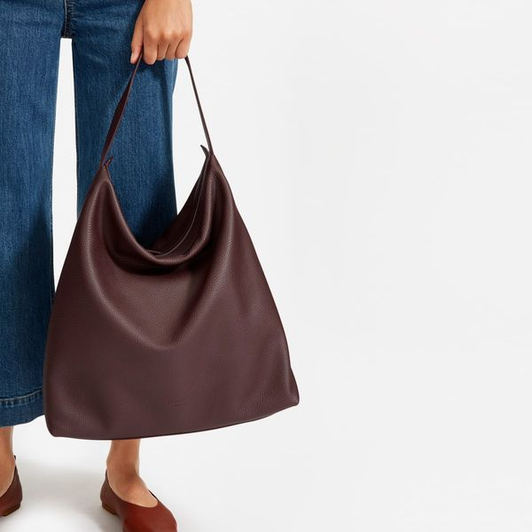 maroon hand carry everlane boss bag womens - stategist cyber monday