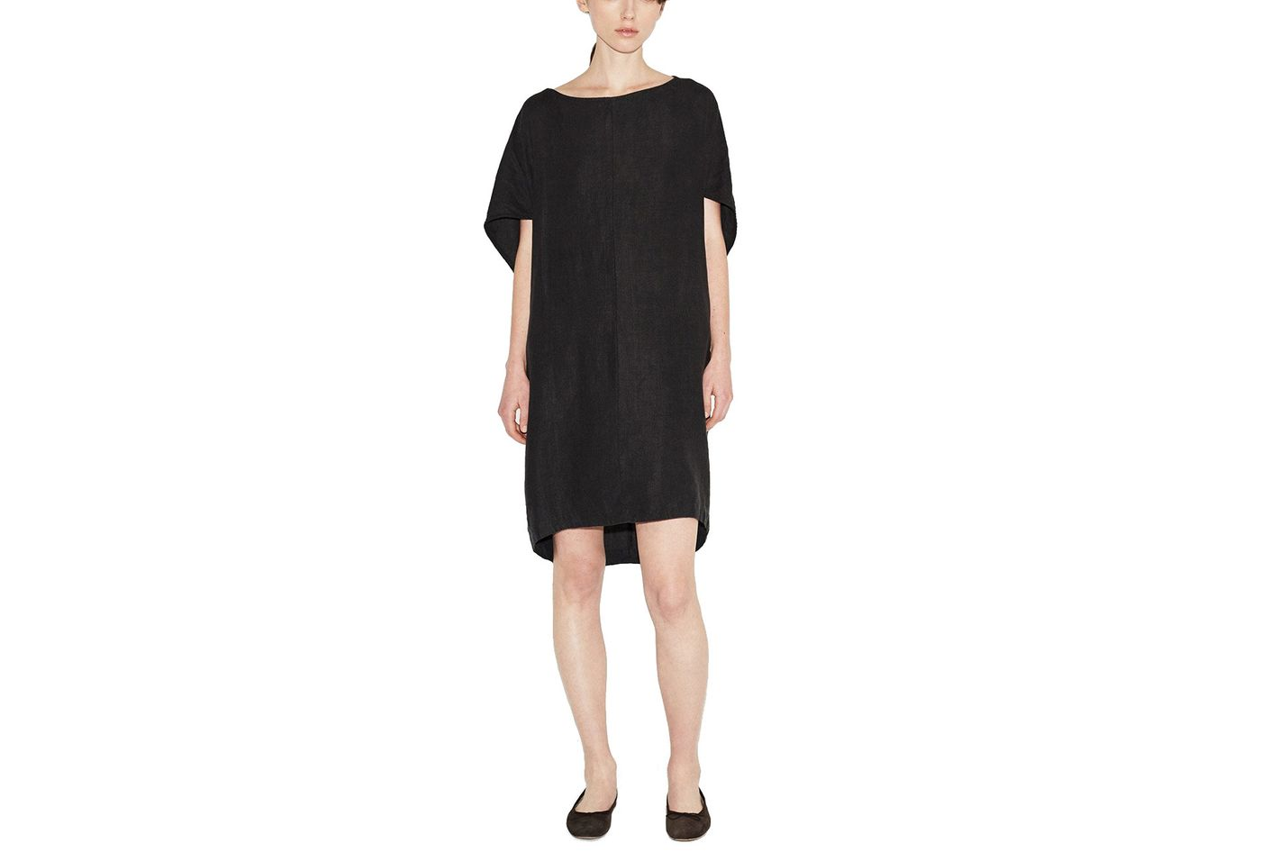 Black Crane Geometric Dress