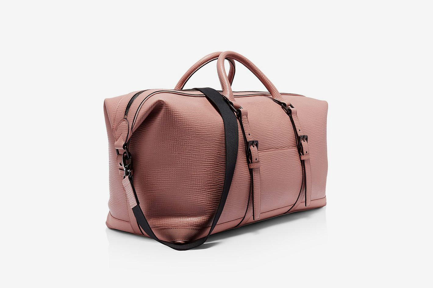 Ted Baker Ragmar Palmelato Leather Holdall Duffel Bag