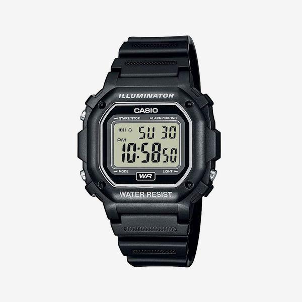 Casio Men's Digital Illuminator Sport Watch, Black
