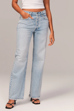Abercrombie & Fitch 90s Low Rise Baggy Jeans