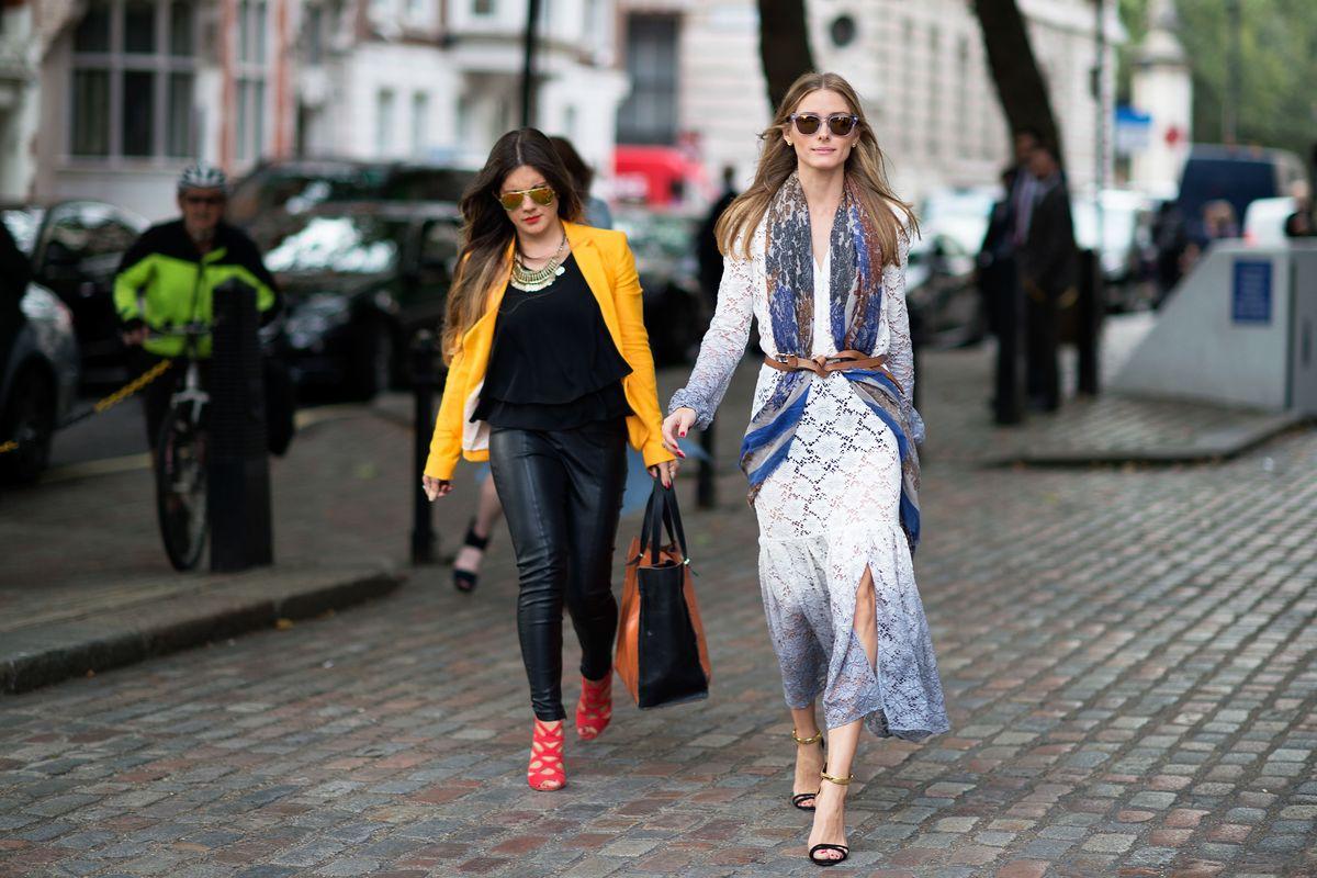 No. 4 - Olivia Palermo - Street-Style Best Dressed: LFW ...