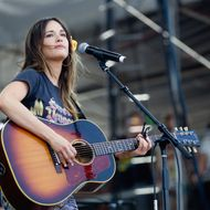 Kacey Musgraves is performing on day 4 of Bottle Rock Napa Valley Festival at Napa Valley Expo on May 12, 2013 in Napa, California.