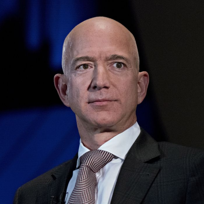 jeff bezos york jokes bloomberg leaving harrer andrew getty via detail