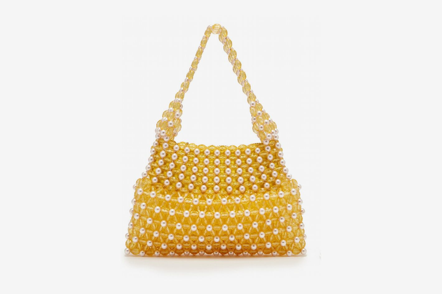 Shrimps Quinn Pearl and Bead Bag