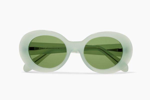 Acne Studios Mustang Round-Frame Sunglasses