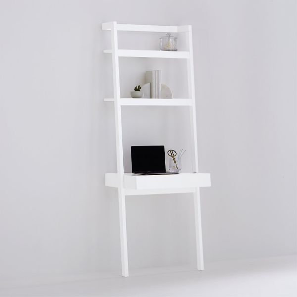 Crate & Barrel Sawyer White Desk