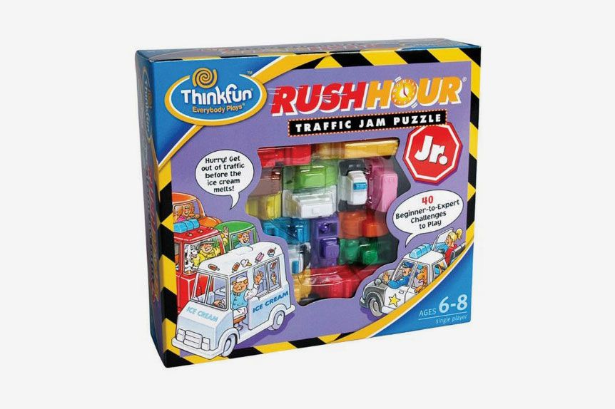 Think Fun Rush Hour Traffic Jam Puzzle Jr.