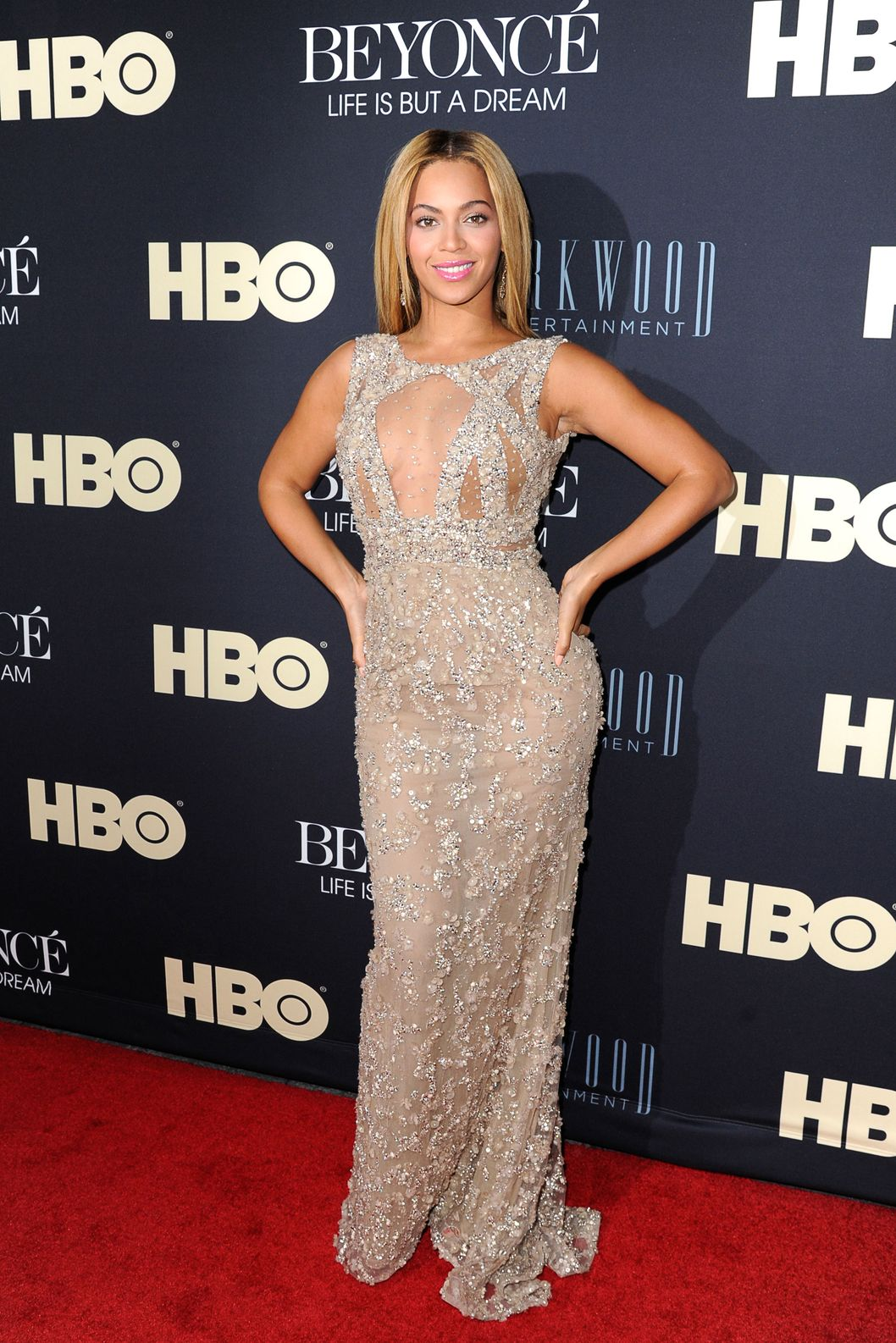 "Beyonce  Knowles attends  ""Beyonce: Life Is But A Dream"" New York Premiere  at Ziegfeld Theater on February 12, 2013 in New York City."