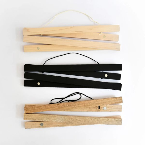 Parabo Press Wood Poster Rails