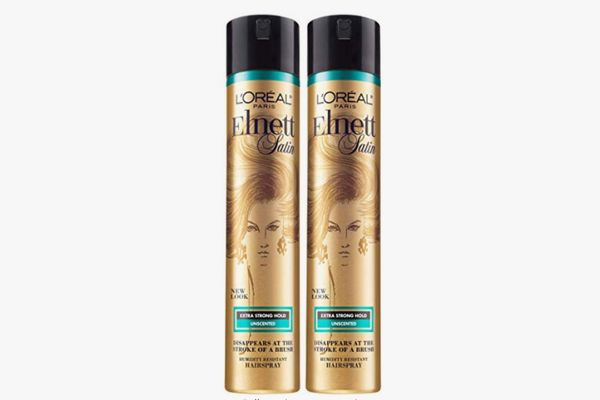 L'Oreal Paris Hair Care Elnett Satin Extra Strong Hold Hairspray - Unscented (2 Count)
