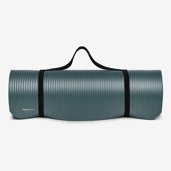 Amazon Basics 1/2-Inch Extra-Thick Exercise Yoga Mat