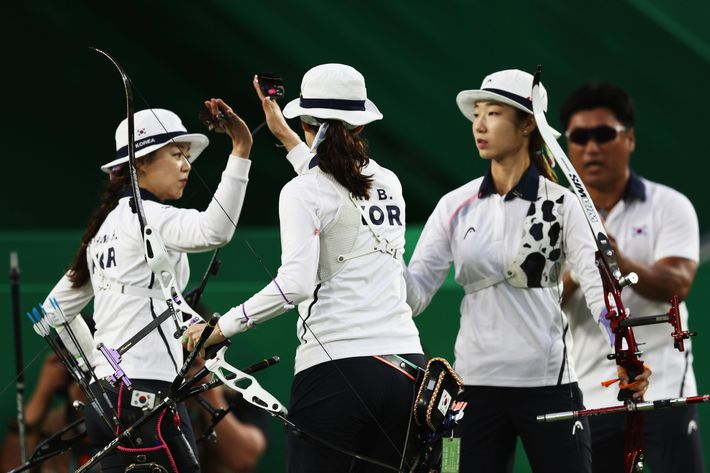Image result for korean archery women