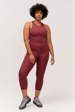 Girlfriend Collective Mulberry High-Rise Pocket Legging