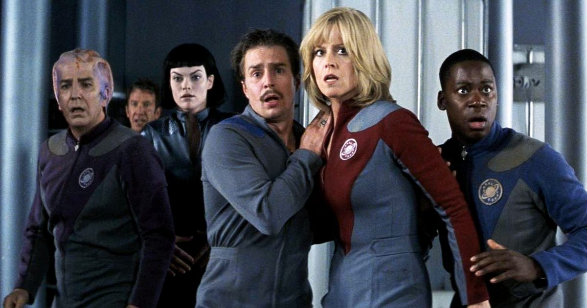 Eddie Izzard on the Scene-Stealing Ensemble of Galaxy Quest