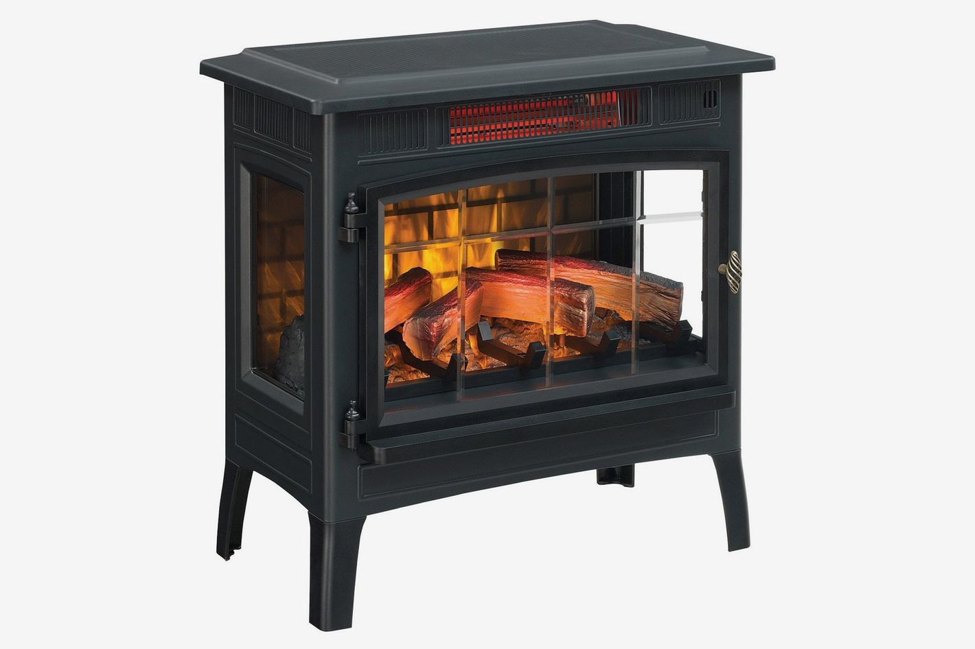 Duraflame  Infrared Quartz Fireplace Stove With 3D Flame Effect and Remote Control