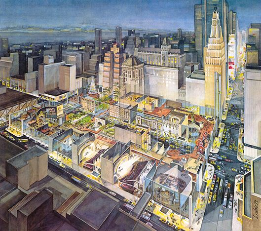 "Poster of ""The City at 42nd Street."" Courtesy of Cooper, Robertson & Partners."