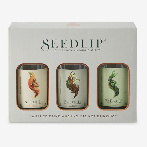Seedlip Distilled Non-Alcoholic Spirits Sampler Trio