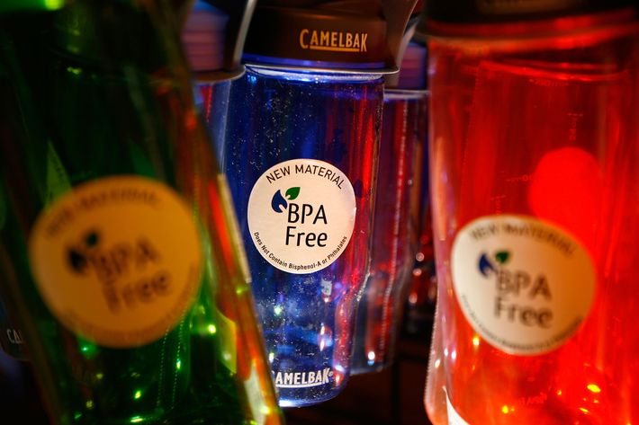 "Studies say ""BPA-free"" products still have traces of the chemical."