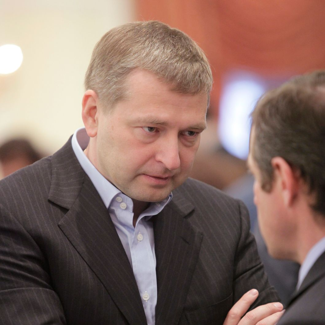 Dmitry Rybolovlev, chairman of OAO Uralkali, listens during the congress of Russian Union of Industrialists and Entrepreneurs in Moscow, Russia, on Thursday, April 15, 2010. Russia may sell some state assets or transfer them for 'long-term' management to strategic investors without an auction, First Deputy Prime Minister Igor Shuvalov said. Photographer: Alexander Zemlianichenko Jr/Bloomberg via Getty Images *** Local Caption *** Dmitry Rybolovlev