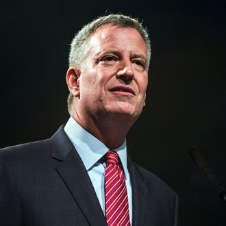 Mayor De Blasio