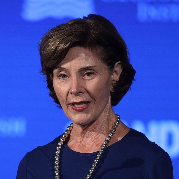 Laura Bush is now even less of a Trump fan.
