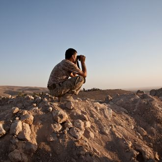 Iraq - Kurds retake the town of Makhmour from ISIS