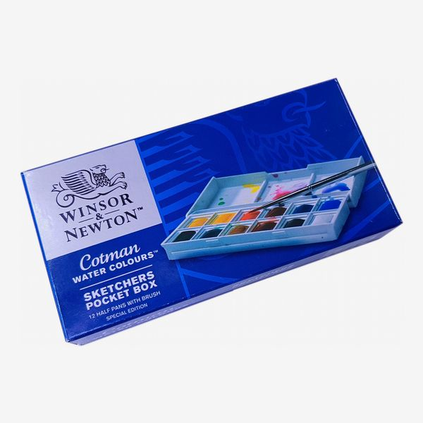Winsor and Newton Cotman Watercolor Set Pocket Box