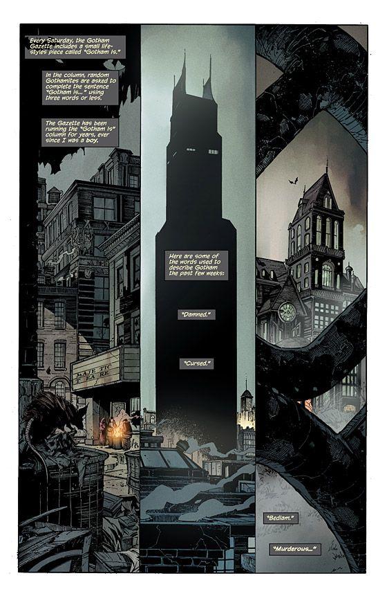 Batman #1 Page