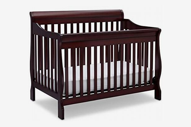 Delta Children Canton 4-in-1 Convertible Baby Crib, Espresso Cherry
