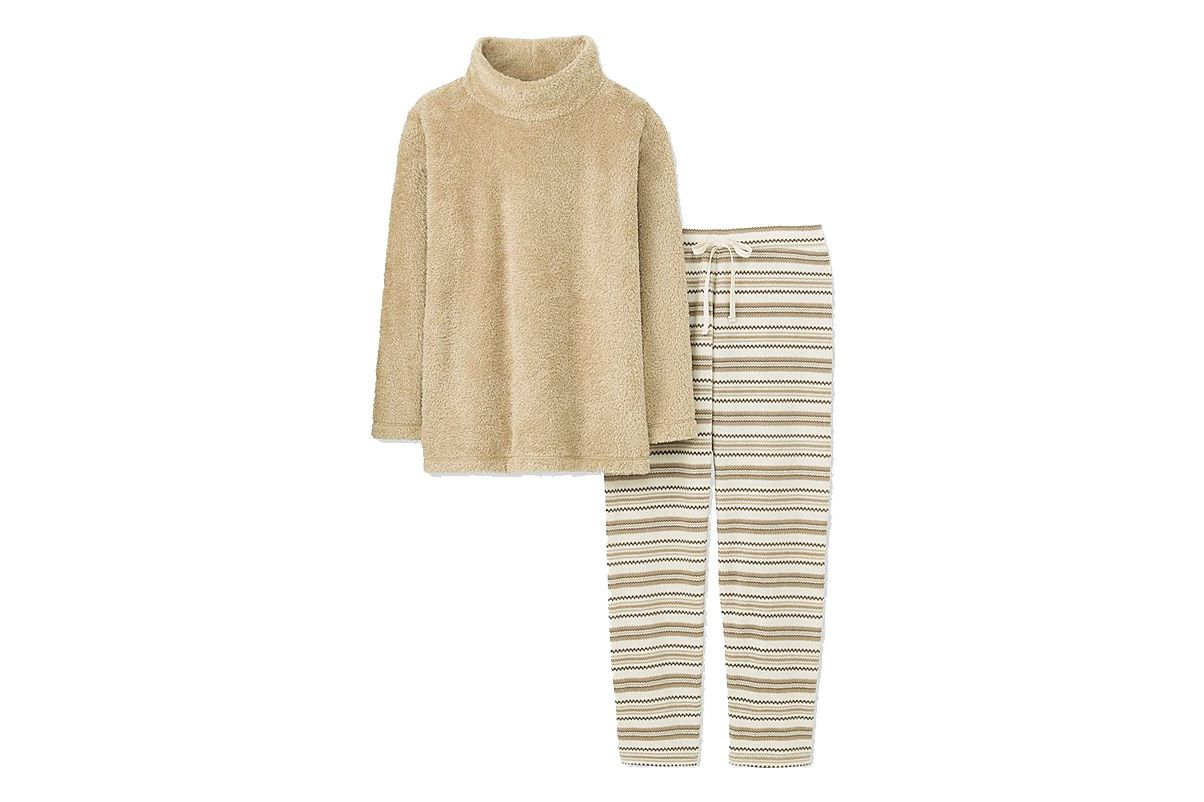 Uniqlo Nordic Fleece Sleep Set