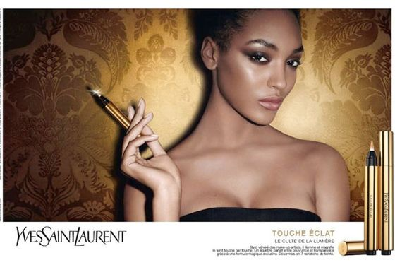 touche latest   for natural makeup brand makeup  campaign eclat ysl s makeup highlighter s the ad