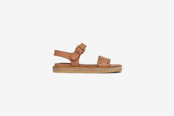 See by Chloe Eyelet-Embellished Leather Sandals