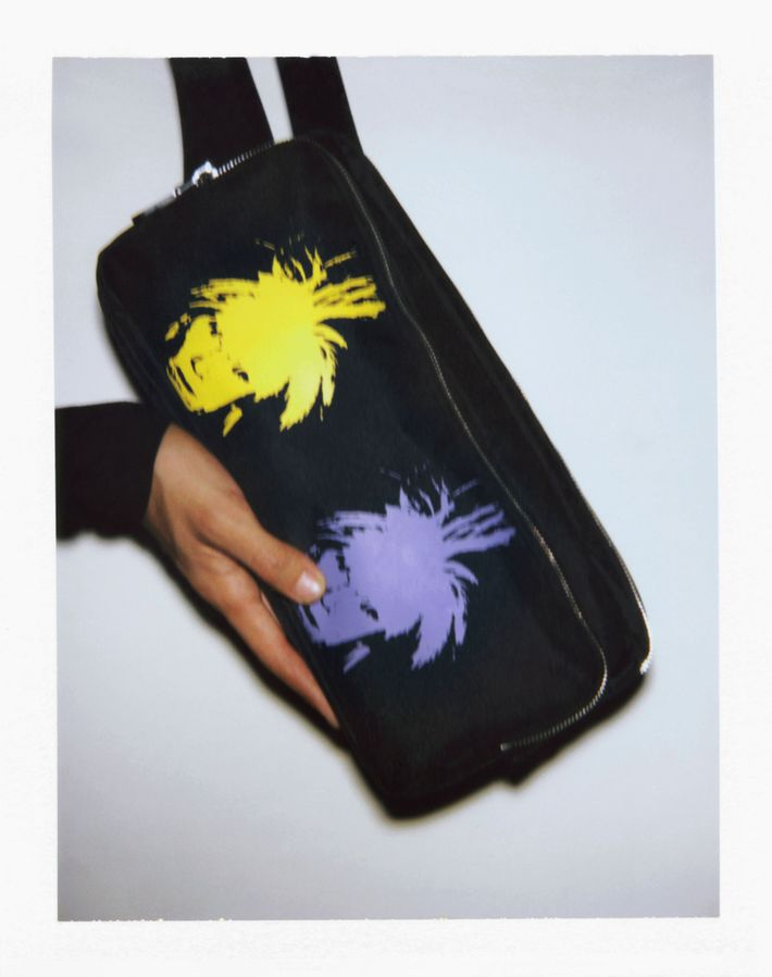 1287ac1368d Photo: CALVIN KLEIN JEANS Urban Crossbody Bag; Printed artwork: Andy  Warhol; Self- Portrait; 1986; ©/®/TM The Andy Warhol Foundation for the  Visual Arts; ...