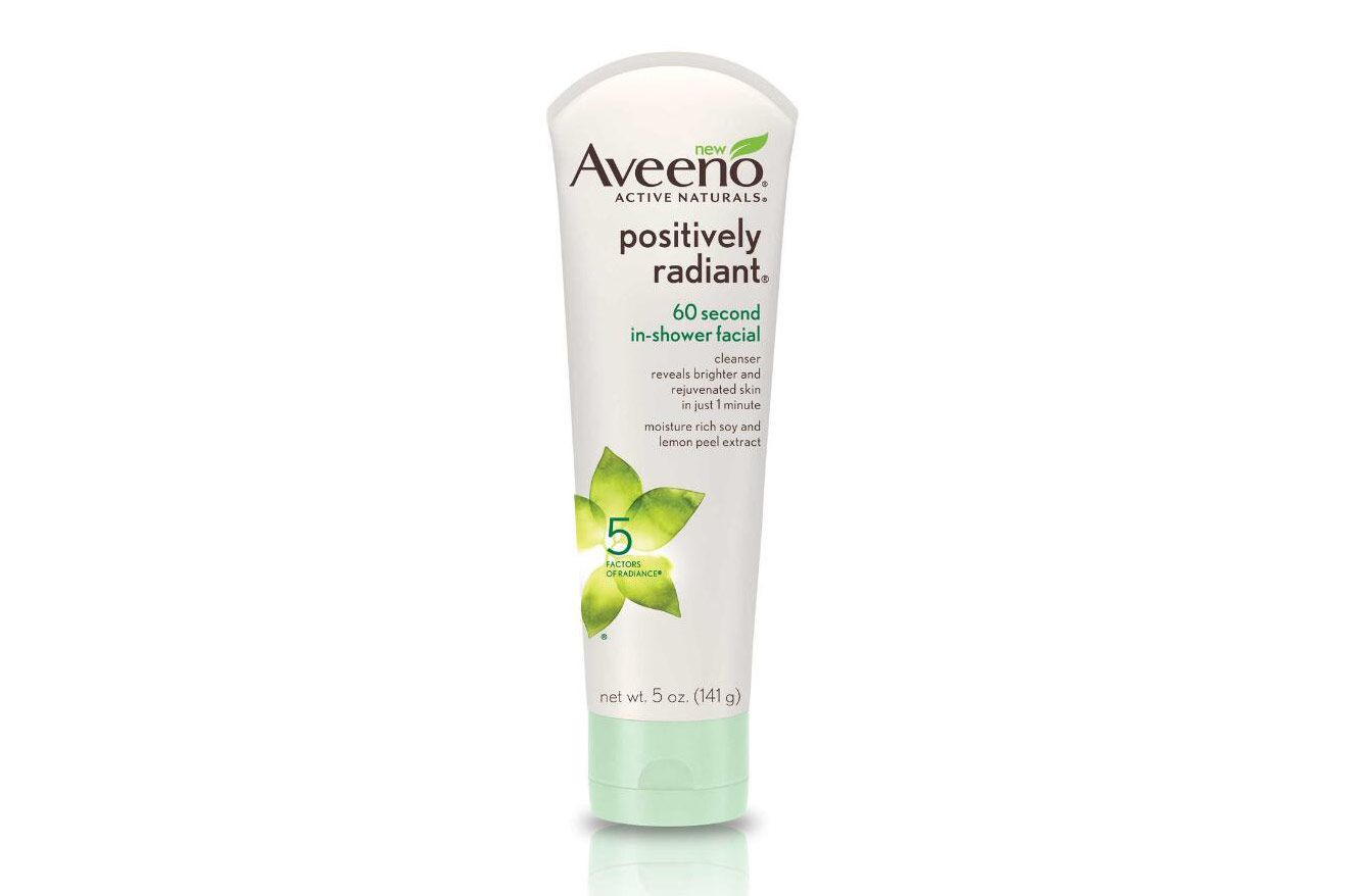 Aveeno® Active Naturals Positively Radiant 60 Second In Shower Facial