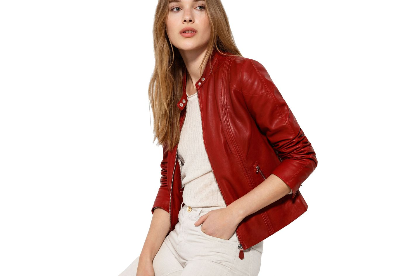 344e8762 How 5 Cool Women Wear Their Leather Jackets