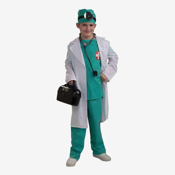 Child/'s Blue Doctor Vest Costume Accessory