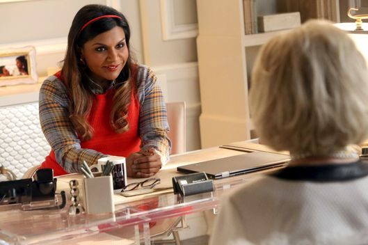 "THE MINDY PROJECT:  Mindy (Mindy Kaling) finds it challenging to attract new patients to her fertility clinic in the ""Fertility Bites"" episode of THE MINDY PROJECT airing Tuesday, March 3 (9:30-10:00 PM ET/PT) on FOX. ?2015 Patrick McElhenney/FOX"