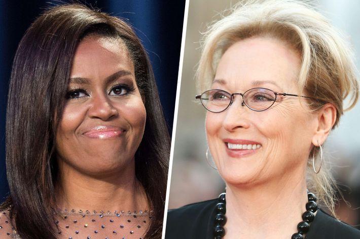 Michelle Obama and Meryl Streep