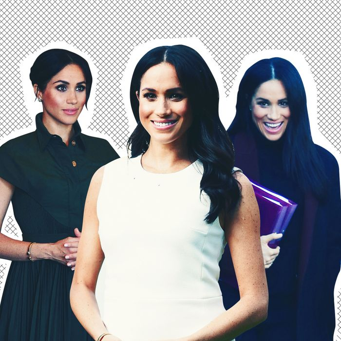 The many royal-tour looks of Meghan Markle.