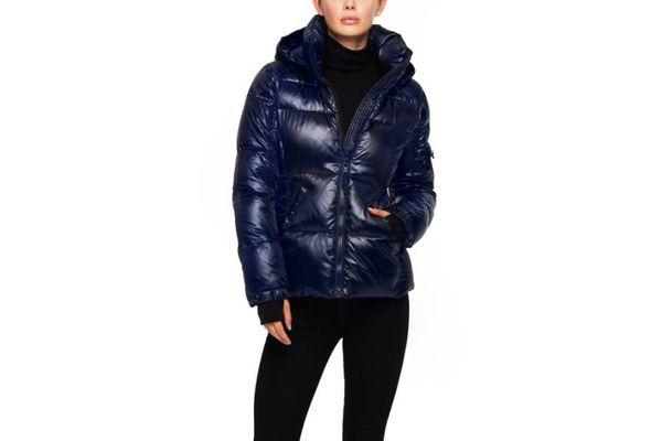 S13 Metallic Bubble Jacket