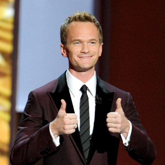 LOS ANGELES, CA - SEPTEMBER 22: Host Neil Patrick Harris speaks onstage during the 65th Annual Primetime Emmy Awards held at Nokia Theatre L.A. Live on September 22, 2013 in Los Angeles, California.  (Photo by Kevin Winter/Getty Images)