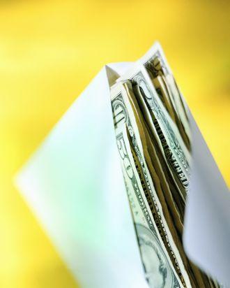 Envelope of Cash