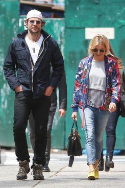 Bradley Cooper and Sienna Miller.