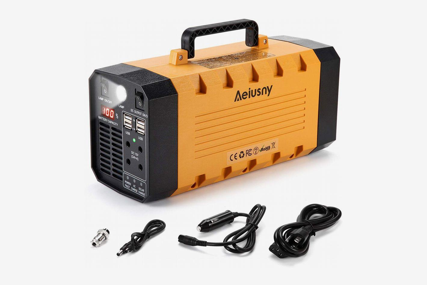 Aeiusny Solar Portable Generator, 288Wh