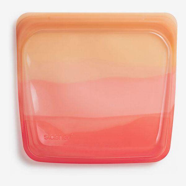 Stasher Sandwich Reusable Silicone Storage Bag – Orange Ombre