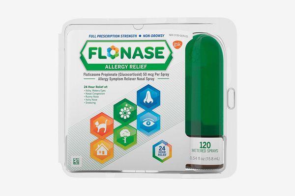 Flonase Nasal Spray for Allergy Relief, 24-Hour Non-Drowsy Allergy Medicine