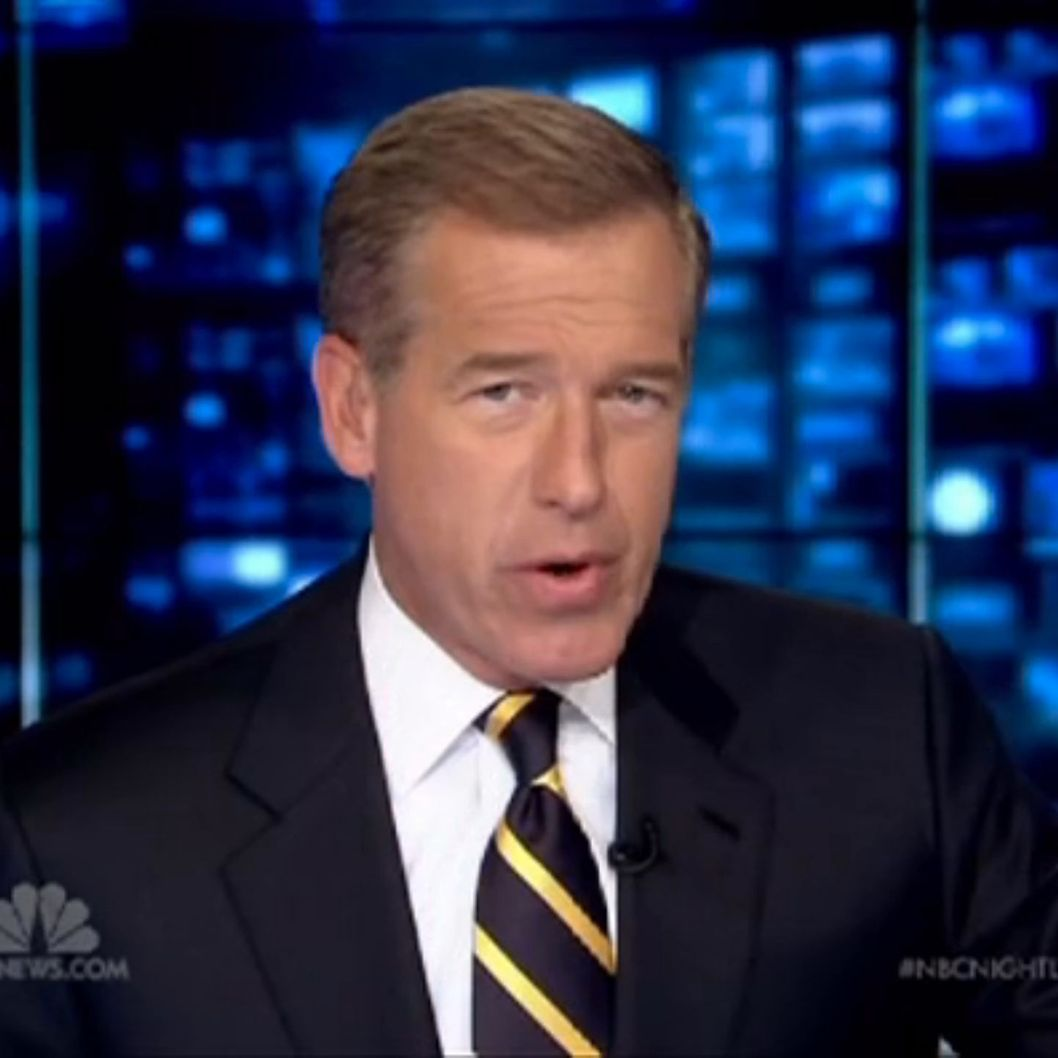 brian williams suspended for 6 months nymag. Black Bedroom Furniture Sets. Home Design Ideas