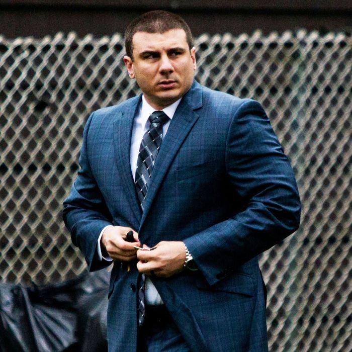 Former-NYPD Officer Daniel Pantaleo.